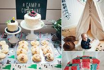 Boys Camping party! / Mason & David's Camping adventure  / by simpleblissblog