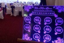 Acrylic Wedding Seating Plans