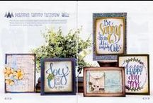 Tammy Tutterow for Spellbinders / Stamps, Dies, Embossing Folders, Stencils and MORE designed by Tammy Tutterow for Spellbinders Paper Arts. / by Tammy Tutterow
