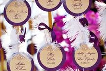 Radiant Orchid Wedding Seating Plans