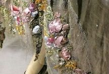 Crafts & DIY: Ribbonwork and Silk Ribbon Embroidery / Vintage and vintage style silk ribbon embroidery and ribbonwork. / by Tammy Tutterow