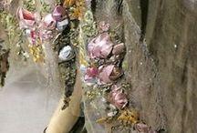craft: Ribbonwork & Silk Ribbon Embroidery / Vintage and vintage style silk ribbon embroidery and ribbonwork.
