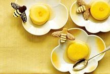 Honey Desserts / Only the best for the sweetest course