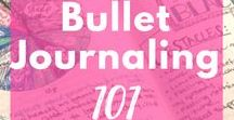 | Bullet Journaling | / Tips for bullet journaling including bullet journal ideas, layouts, basics, bullet journaling 101, setup, supplies, inspiration, how to start, daily, weekly, and monthly spreads, and collections.