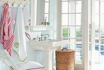 bathrooms / by barn owl primitives