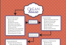 Taking Care of the Home  / Things that make it easier to keep the home clean and organised!