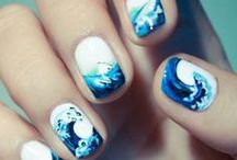 Nail Art Inspiration / Just about anything that's not a single color. Time to try some of these!