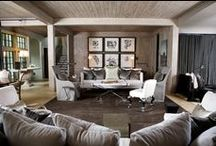 Interior / Concrete paver floors