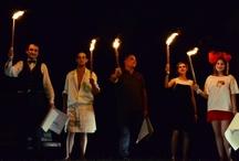 """""""Io n'esco"""" spettacolo per un grande autore / """"Io n'esco"""" Spettacolo di QdF Teatro e Fabbrica delle Idee di Ronco Briantino - Ronco Briantino - 8 luglio 2012"""