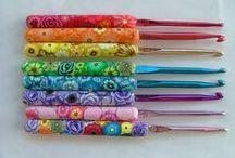 crochet crafts / by Kelly Feeback Toliver