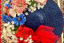 4th of July / July 4th crafts and ideas, DIY ideas for the home and fourth of July activities for kids.