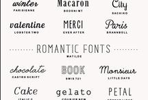 Font Fanatic / by Shannon Hutcheson