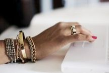 // JEWELLERY // / Jewellery inspiration from dainty rings to trendy bold pieces