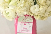 Mother's Day Through Glass / Just a few glass inspired ideas on how to celebrate Mother's Day.