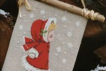 ~ CHRISTMAS CROSS STITCH PATTERNS~ / by Cindy Toth Roach
