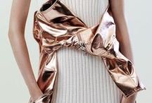 Metallics / Now showing metallic mix-ins and inspiration from LGS for your spring look.