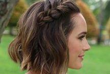 // SHORT BRIDAL HAIR // / Bridal hair inspiration for ladies with shorter hair