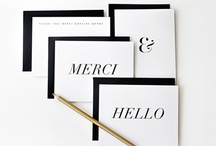 love // stationery / by Kellie / 74 Lime Lane