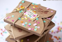 love // pretty packages / trims, ribbons, tape, paper / by Kellie / 74 Lime Lane