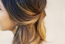 Hair and Makeup Ideas / Inspiration and ideas for hair (for you and your little girl) and makeup for regular shoots, weddings, and everyday!