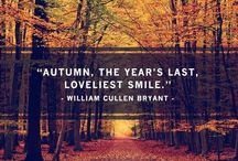 Falling for Fall / My favorite season: the magic, the cool, crisp air, the smells, the sounds, the sweaters! This is Autumn!