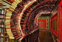 """Bibliotecas y librerías / Libraries and bookstores  / """"Por el grosor del polvo en los libros de una biblioteca pública puede medirse la cultura de un pueblo"""". John Ernst Steinbeck (1902-1968) """"Una biblioteca no es un lujo, sino una de las necesidades de la vida"""". Henry Ward Beecher (1813-1887)"""