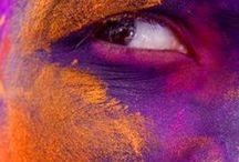 Red, Orange and Purple