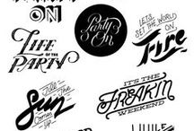 Type / Beautiful typography and fonts.