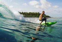 Surf the street and the waves / Wellenreiten