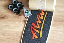 Custom Boards / Our own choice of great decks and designs.  Assemble your own surf skateboard!