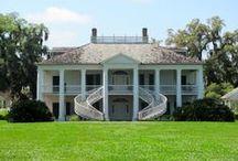 Inspiration - Louisiana Plantation Homes