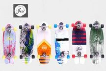 New Surf Skateboards in stock! / YOW Skateboards und Carver Skateboards!   Gratis Versand, Gratis Skate-Tool, Viel Spaß!