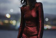 Velvet and shiny outfits / Go luxe