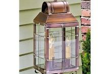 Primitive Outdoor Lighting