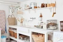 DESIGN | laundry room / Inspiration for my dream laundry room #DreamHome #LaundryRoom #design #HomeDecor #utilityroom