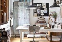 DESIGN | craft room / Inspiration for my dream craft room #DreamHome #CraftRoom #design #HomeDecor #Workshop