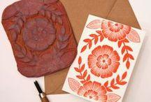 Stamps / Carvado de sellos