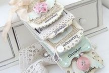 Impressive Handmade Altered Art / I'm in LOVE with Altered Art and Fancy it just as much as I do a good latte'.  This pin board reflects my taste in this medium.  Enjoy! / by Creatique Candy