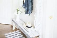 DESIGN | entry / Inspiration for designing an inviting entryway  #DreamHome #entry #design #HomeDecor