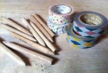 Washi Tape / Tutoriales e ideas con washi tape.
