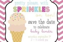 """sprinkles on top"" party | baby sprinkle / baby shower, baby sprinkle, kids birthday / by Sara Rains"