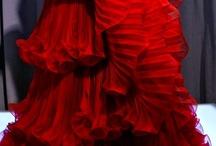 RED RUBY CRIMSON  / by Helen Ledford