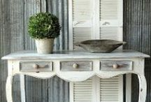 DESIGN | furniture / Beautiful furniture to inspire you to transform your own thrift store and vintage finds.  #furniture #chalkpaint #painting #DIY