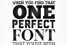 My Fonts / My premium font collection, for Priceless Design clients. http://priceless.design