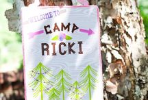girlie camping party / by Sara Rains