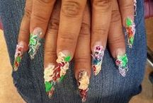 Nail heARTistry Ideas / Different Nail heARTistry ideas that I pull inspiration from.  / by Creatique Candy