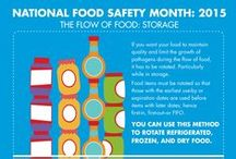 National Food Safety Month / September is NFSM! These tips and products will ensure you're adhering to food safety standards.
