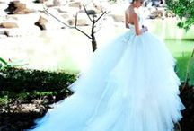 PINK, PURPLE, BLUE'S, GREENS, ALL COLOR'S BEAUTIFUL WEDDING GOWNS  / by Helen Ledford