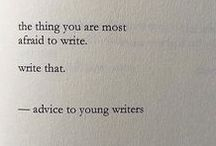 I'm a writer, I can explain...