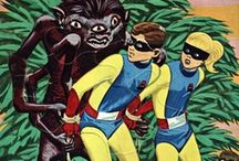 The Super Heroic / ...having to do with masked adventurers and gaily costumed crime fighters.